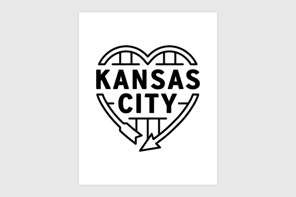 Kansas City Heart Sign