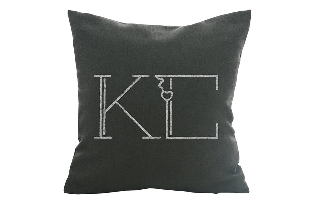 Kansas City – Love Pillow Cover