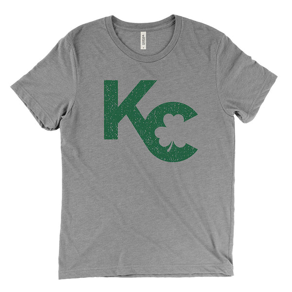 KC Shamrock Tee (Grey)