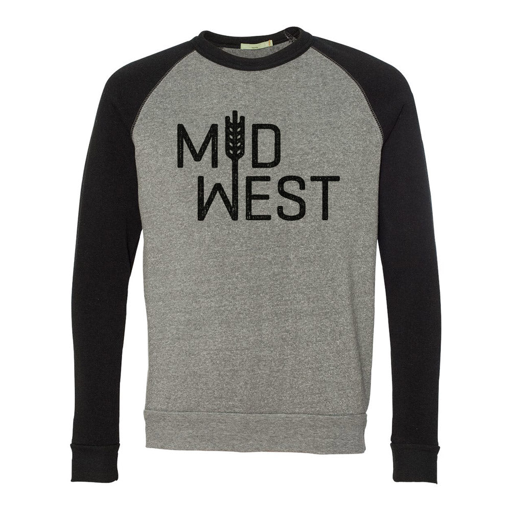 Midwest Sweatshirt (Grey/Black)