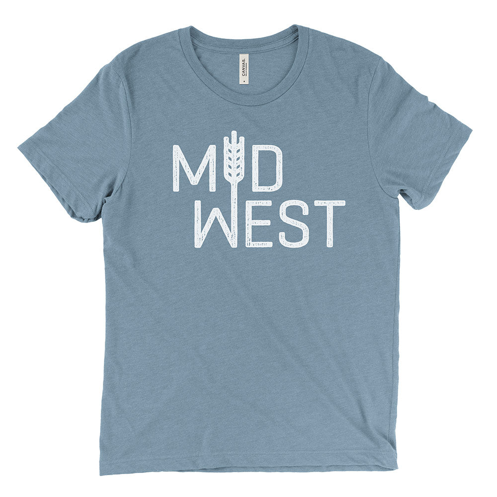 Midwest Tee (Denim Blue)