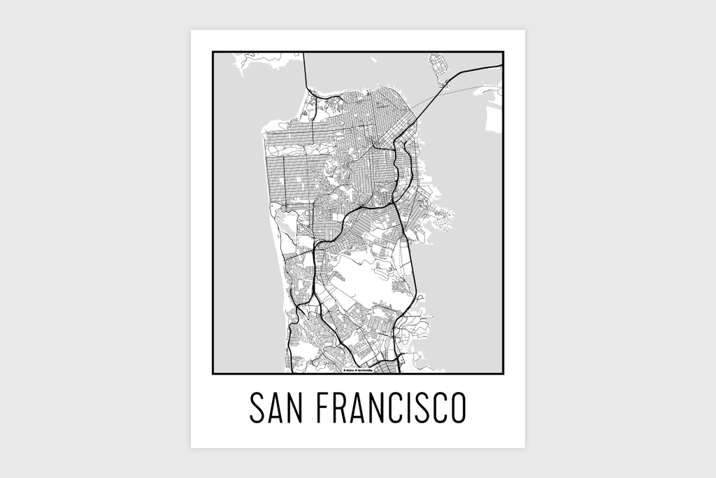 photo regarding San Francisco Maps Printable titled San Francisco Map