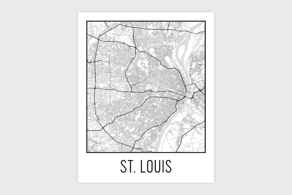 St. Louis Map