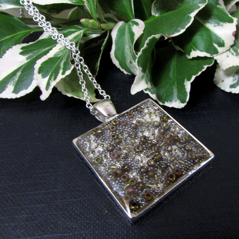 Granite necklace
