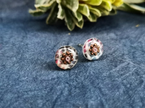 Juniper - sterling silver earrings