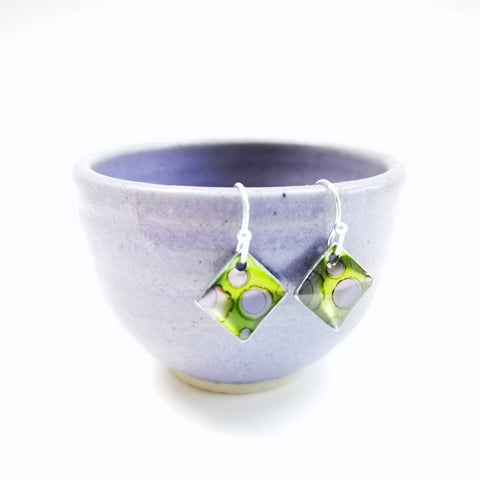 Azalea - sterling silver earrings