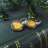 Rapture - silver plated earrings
