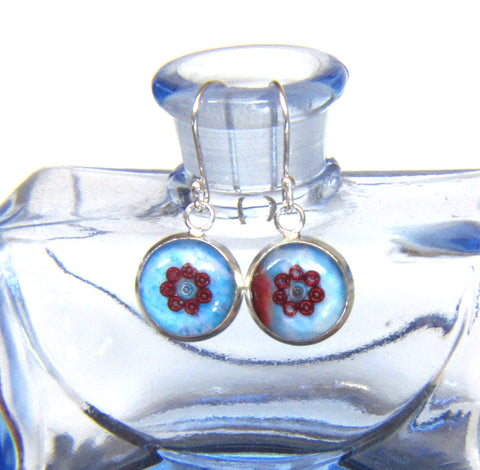 Bliss - silver plated earrings
