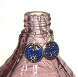 Dewberry - silver plated earrings