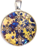 Imperial - silver plated pendant and necklace