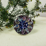 Lustre - silver plated ring