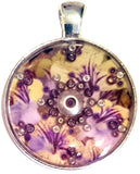 Myriad - silver plated pendant and necklace
