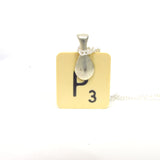 Posy - Scrabble tile necklace