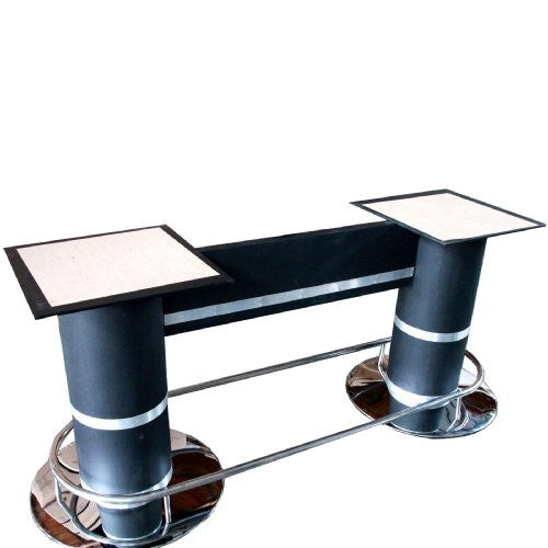 High Quality 2 Pedestal Style Poker Table Legs