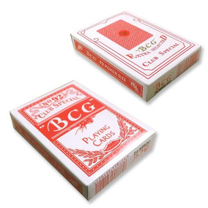 2 Decks Best Poker Club Special No.99 Diamond Back Paper Playing Card Red #9584x2# - IDS Online Shop