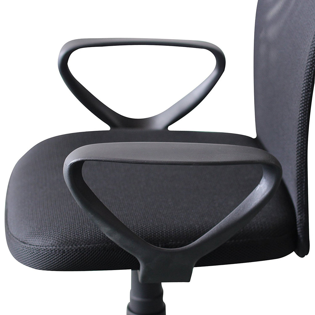 Armless Ids Home Ergonomic Mesh Medium Back Computer Desk Task Office Chair Mimbarschool Com Ng