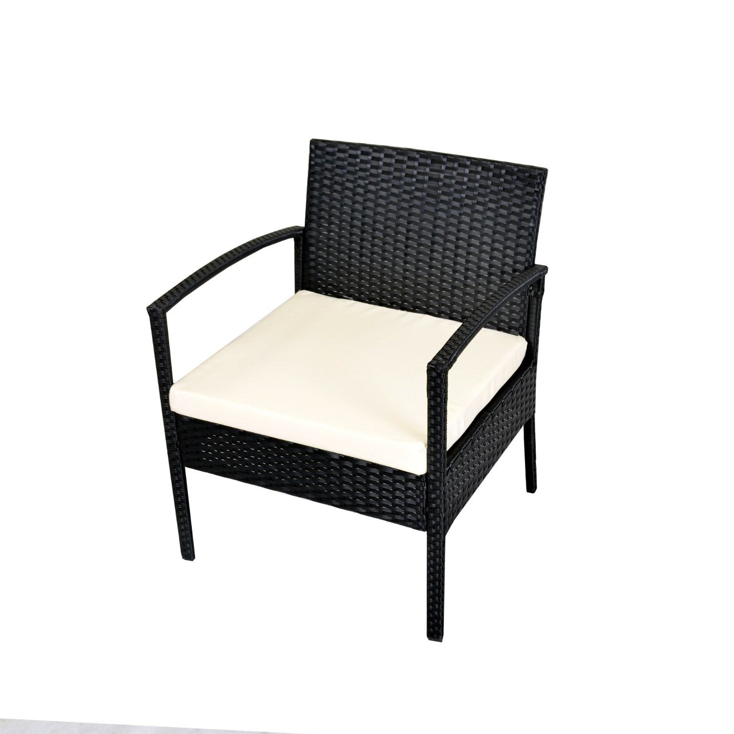 Patio Chair Set Part - 43: Rattan Wicker Coffee Table Garden Patio Furniture Set