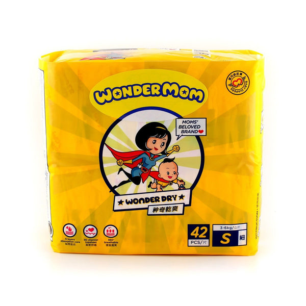 Wonder Mom Baby Dry Diapers