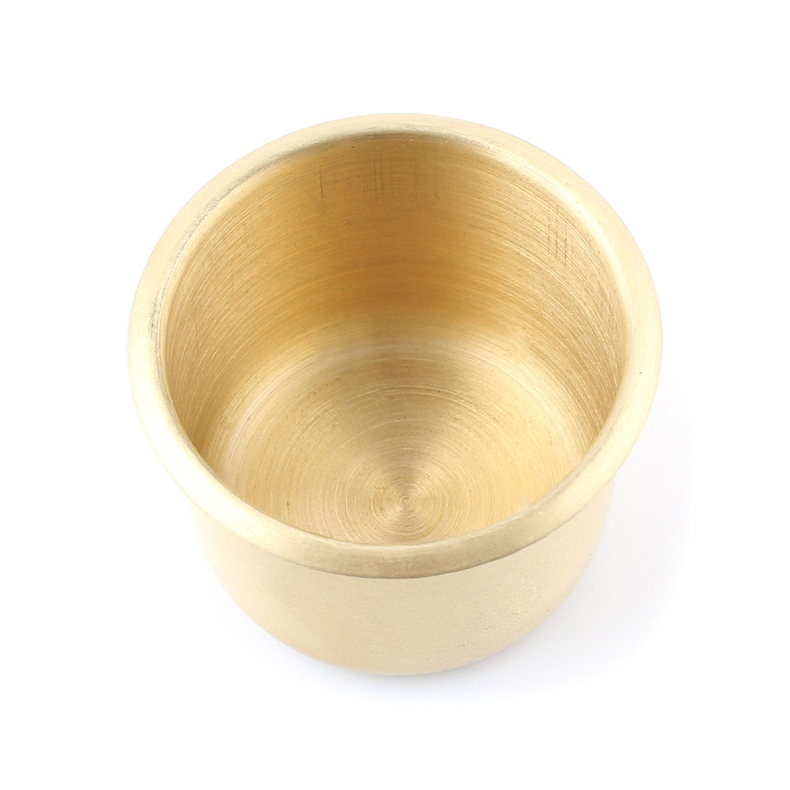 10 x Brass Poker Table Cup Holder Jumbo - IDS Online Shop