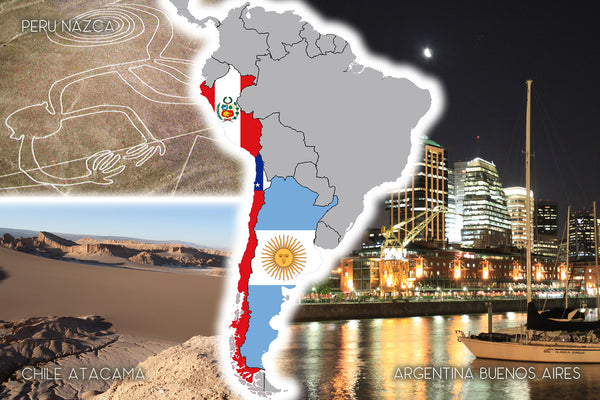 ARGCHPE21 GROUP | Argentina-Chile-Peru 21 days