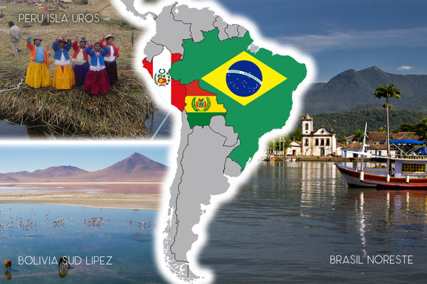 BRABOPE21 GROUP | Brazil-Bolivia-Peru 21 days