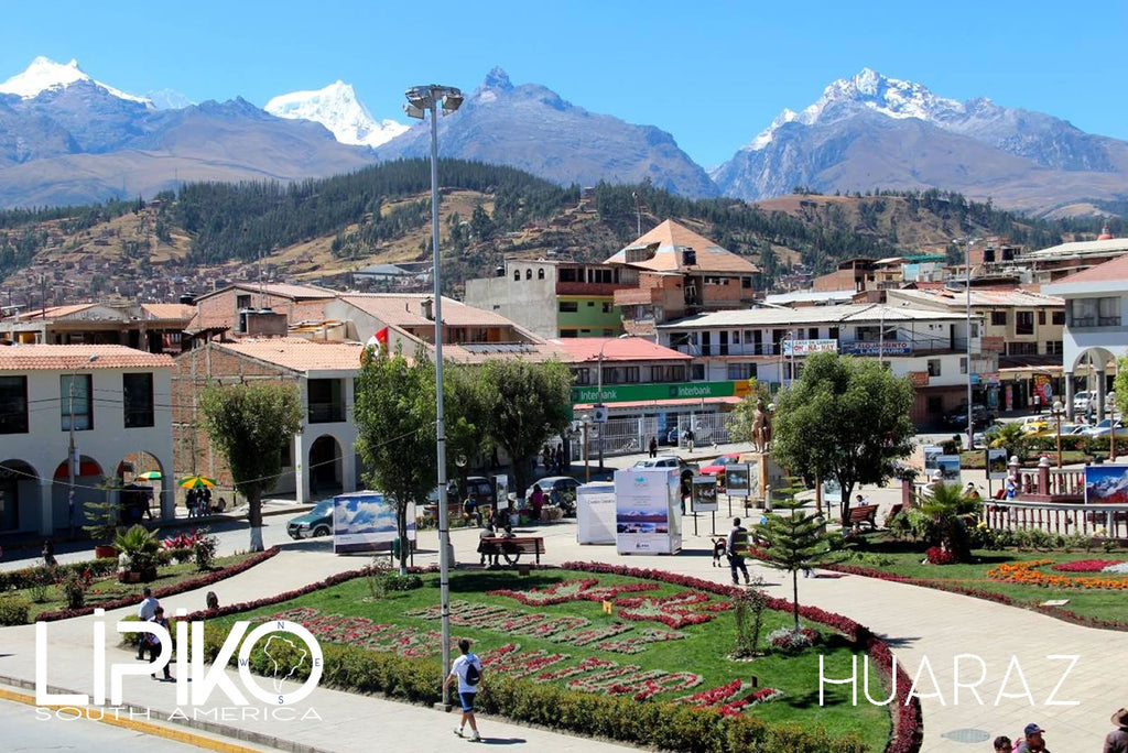Photo-Huaraz pueblo