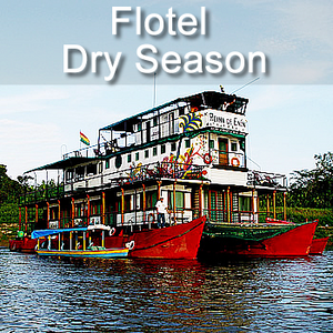 Flotel Riverboat 6 days  (May to October) - Code: BOAFLMO6