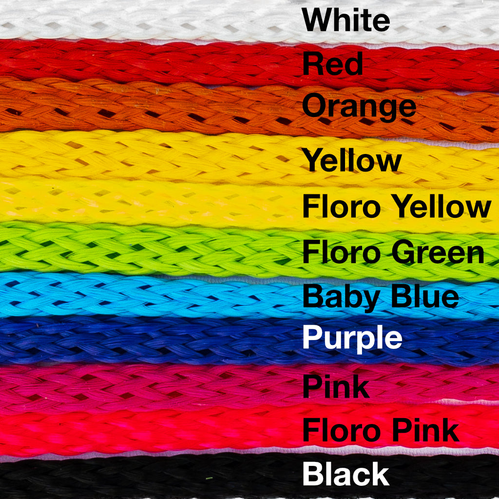 8MM Poly-Propylene Bulk Rope - Solid Colors