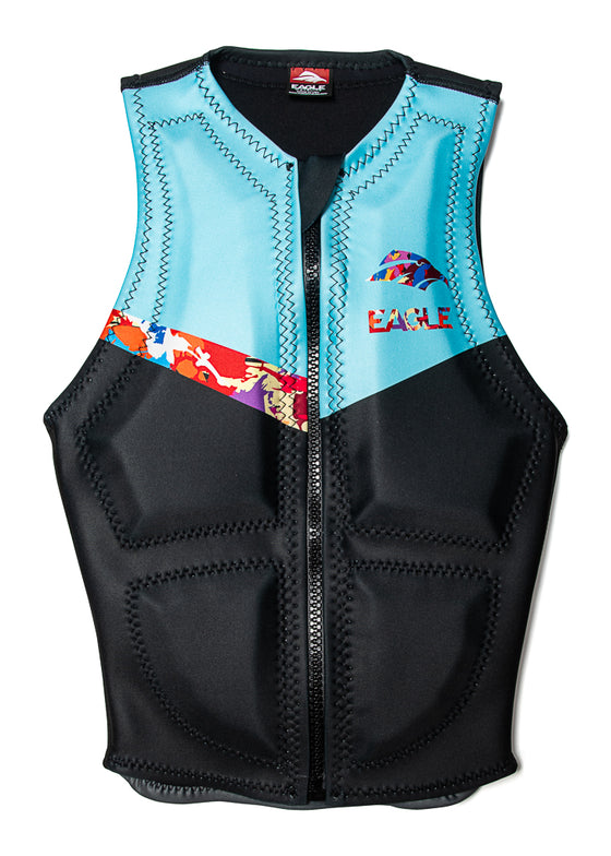 Eagle Apex Womens Water Ski Vest - Acid Rain