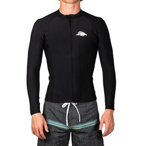 Eagle Long Sleeve Free Flex Heater Shirt-Front Zip