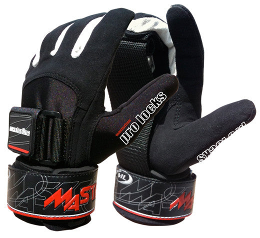 Masterline | Pro Lock Water Ski Gloves | Water Ski Gloves, Water Ski Equipment, Accessories