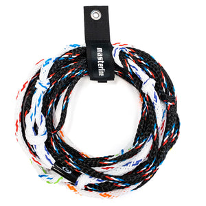 10.75m (39.5' off) Dlx Mainline Water Ski Rope (7 section with marking sleeves)-USA