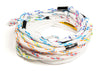 Dlx 9.25m Optimized Slide Loop Mainline (11 Section) Water Ski Slalom Rope | MasterlineUSA | Slalom Water Ski Rope