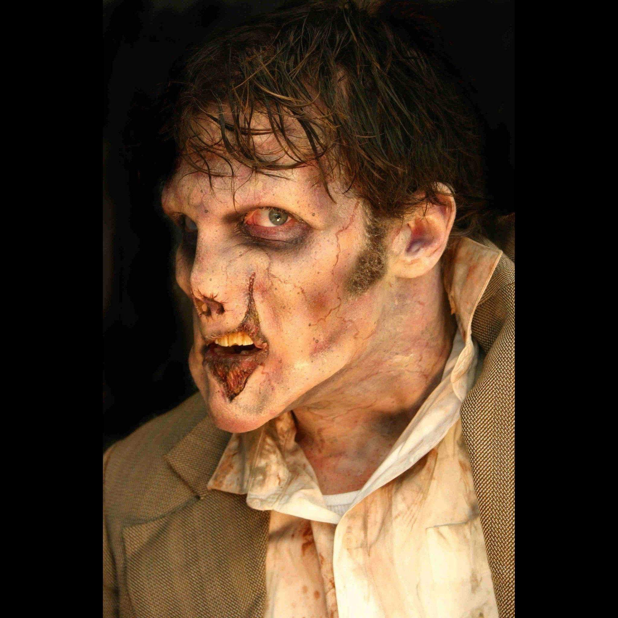 Zombie Makeup Kit Foam Appliance Halloween Latex