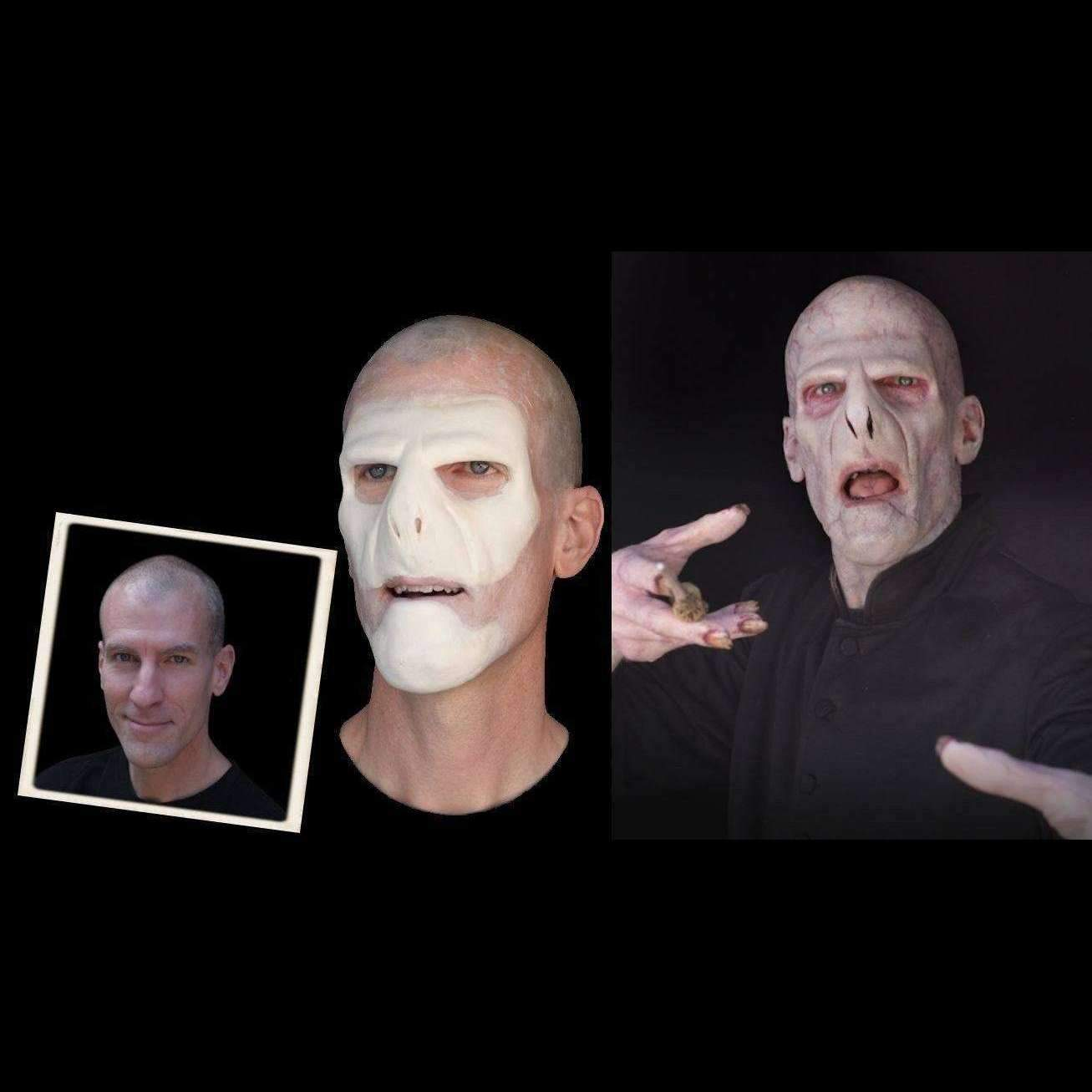 The Scream Team Gaunt | Foam Latex Prosthetic