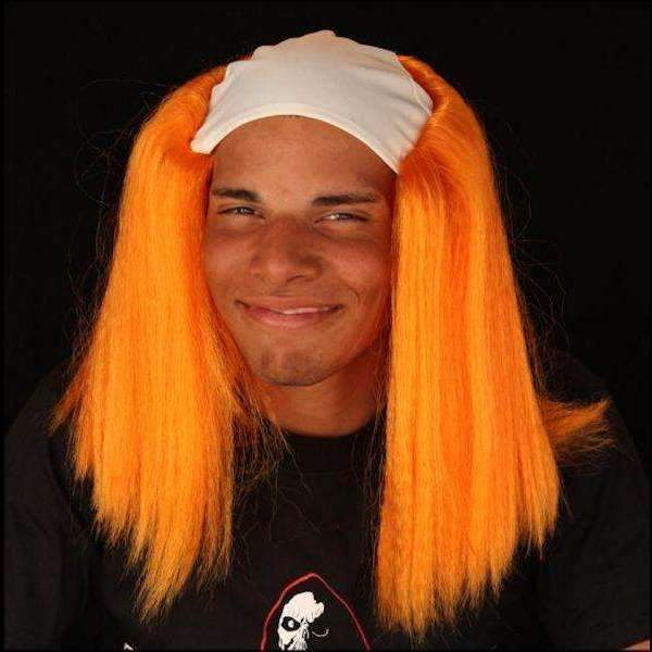 The Scream Team Orange Clown Wig  | Deluxe Halloween Wig
