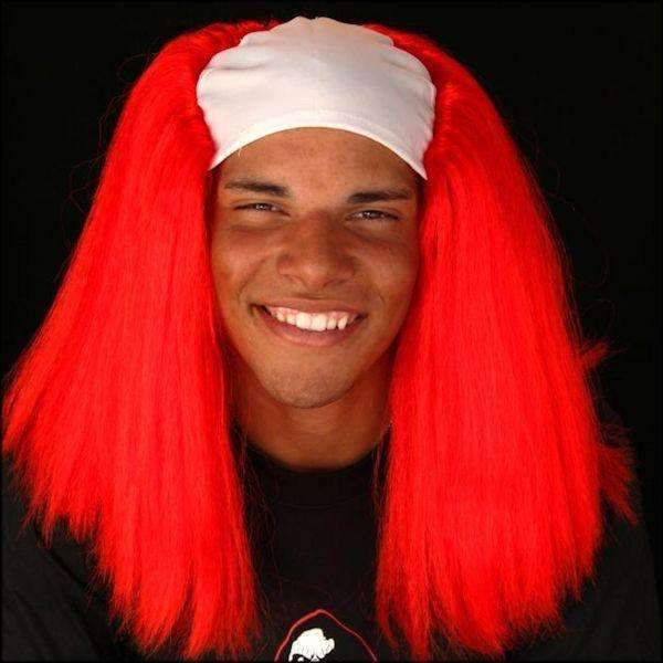 The Scream Team Red Clown Wig | Deluxe Halloween Wig