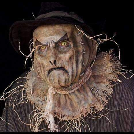 The Scream Team Scarecrow | Foam Latex Prosthetic