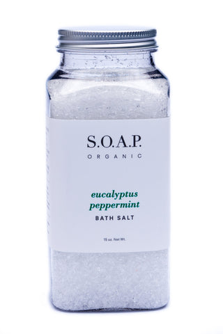 Eucalyptus Peppermint - Stress Relief BATH SALT