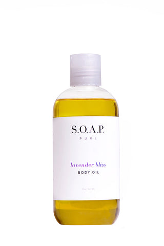 Lavender Bliss BODY OIL - 100% Natural - FULL SIZE
