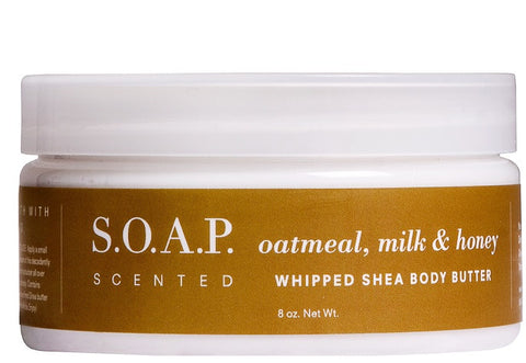 Oatmeal, Milk & Honey Whipped Shea Body Butter-FULL SIZE