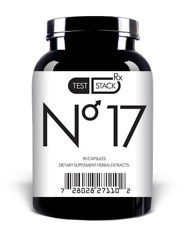 Test Stack No.17 - Best Testosterone Booster