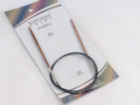 "Knitter's Pride US 5 (3.75 mm) circular needles (32"")"