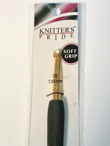 Knitter's Pride Soft Grip Crochet Hook (7 mm)