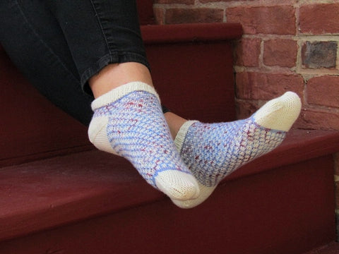 Brickworks Socks -- Knitting Patterns -- PDF Download