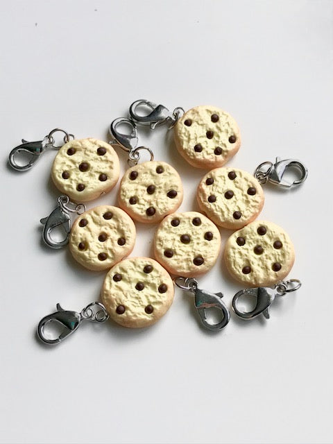 Chocolate Chip Cookie -- Project Keeper & Zipper Pull