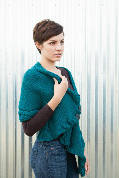 Everdine Wrap -- Knitting Patterns -- PDF Download