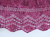 Fairfax Shawl-- Knitting Patterns -- PDF Download