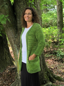 The Bellwether Cardigan -- Knitting Patterns -- PDF Download