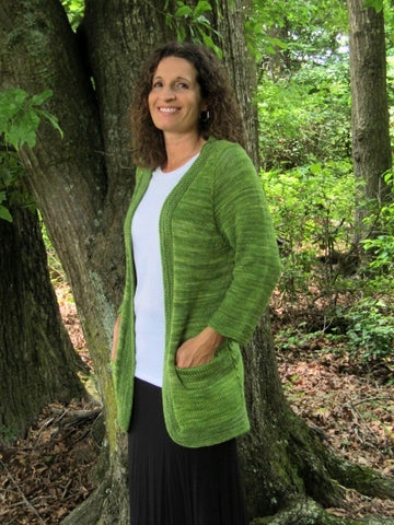 Bellwether Cardigan -- Knitting Patterns -- PDF Download